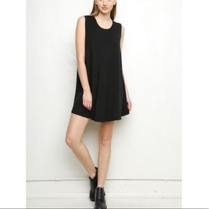 Brandy Melville x J Galt Black Tank Top Dress